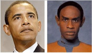 Barack and Tuvok - separated at birth?